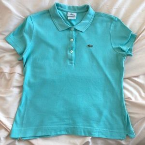 Lacoste Size 40 Women's Polo Shirt